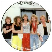Click here for more info about 'Def Leppard - Interview Picture Disc'