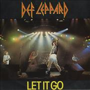 Click here for more info about 'Def Leppard - Let It Go'