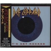 Def Leppard Let's Get Rocked - Sealed Japan CD single