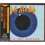 Def Leppard Let's Get Rocked Japan CD single