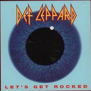 Click here for more info about 'Def Leppard - Let's Get Rocked'