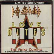 Click here for more info about 'Def Leppard - Love Bites - Box Set - EX'
