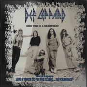Def Leppard Miss You In A Heartbeat Germany 2-CD single set