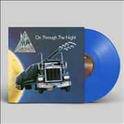 Click here for more info about ' - On Through The Night - Blue Vinyl - Sealed'