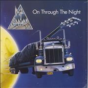 Click here for more info about 'Def Leppard - On Through The Night - Blue Vinyl'
