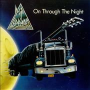 Click here for more info about 'Def Leppard - On Through The Night - Spaceship - EX'