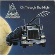 Def Leppard On Through The Night Germany vinyl LP
