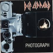 "Def Leppard Photograph UK 12"" vinyl"