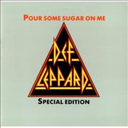 Click here for more info about 'Pour Some Sugar On Me + Sleeve'