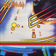 "Def Leppard Pour Some Sugar On Me UK 12"" vinyl"