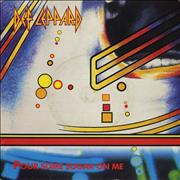 "Def Leppard Pour Some Sugar On Me UK 7"" vinyl"