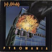 Click here for more info about 'Def Leppard - Pyromania - EX'