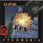 Click here for more info about 'Def Leppard - Pyromania - Red Vinyl'