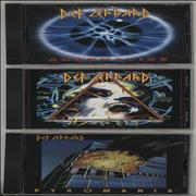 Click here for more info about 'Def Leppard - Pyromania/ Hysteria/ Adrenalize'