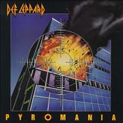 Def Leppard Pyromania UK vinyl LP
