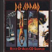 Click here for more info about 'Def Leppard - Rock Of Ages CD Sampler'