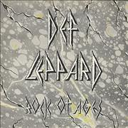 "Def Leppard Rock Of Ages UK 12"" vinyl"