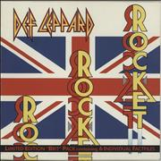 Click here for more info about 'Def Leppard - Rocket - Brit Pack'