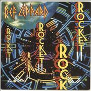 Click here for more info about 'Def Leppard - Rocket - Paper label'