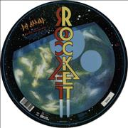 "Def Leppard Rocket UK 12"" picture disc"