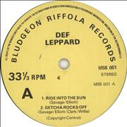 Click here for more info about 'Def Leppard - The Def Leppard EP'