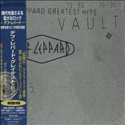 Click here for more info about 'Def Leppard - Vault: Def Leppard Greatest Hits 1980-1995 - Sealed'