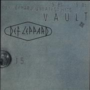 Click here for more info about 'Def Leppard - Vault Greatest Hits: 1980-1995 - 180gm Clear Vinyl'