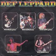Click here for more info about 'Def Leppard - Wasted + P/S'