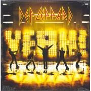 Def Leppard Yeah! - Sealed UK 2-LP vinyl set
