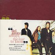 Del Amitri Alway The Last To Know - Limited Pack + band UK CD single