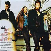 Del Amitri Always The Last To Know UK CD single