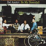 Del Amitri Be My Downfall USA CD single Promo