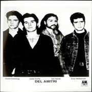 Del Amitri Change Everything USA press pack Promo