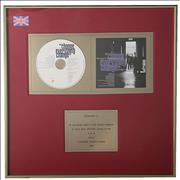 Del Amitri Change Everything UK in-house award disc