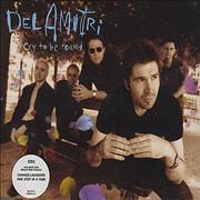 Del Amitri Cry To Be Found - Part 1 UK CD single