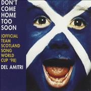 Del Amitri Don't Come Home Too Soon UK CD single