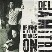 Del Amitri Driving With The Brakes On USA CD single Promo