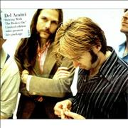 Del Amitri Driving With The Brakes On UK 2-CD single set