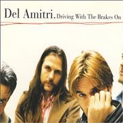 Del Amitri Driving With The Brakes On UK CD single