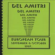 Del Amitri European Tour Itinerary UK Itinerary