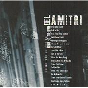 Del Amitri Hatful Of Rain - The Best Of Del Amitri USA CD album Promo