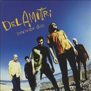 Del Amitri Interview Disc UK CD album Promo