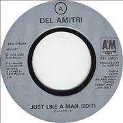 "Del Amitri Just Like A Man - Jukebox Issue UK 7"" vinyl"