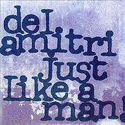 "Del Amitri Just Like A Man USA 12"" vinyl Promo"