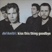 "Del Amitri Kiss This Thing Goodbye - 1st Issue UK 7"" vinyl"
