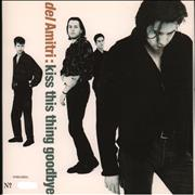 "Del Amitri Kiss This Thing Goodbye - Gatefold Sleeve UK 7"" vinyl"