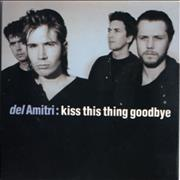 "Del Amitri Kiss This Thing Goodbye - Mint UK 3"" CD single"