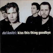 "Del Amitri Kiss This Thing Goodbye UK 3"" CD single"