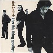 Del Amitri Kiss This Thing Goodbye UK CD single