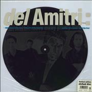 "Del Amitri Move Away Jimmy Blue - Etched Disc UK 12"" vinyl"
